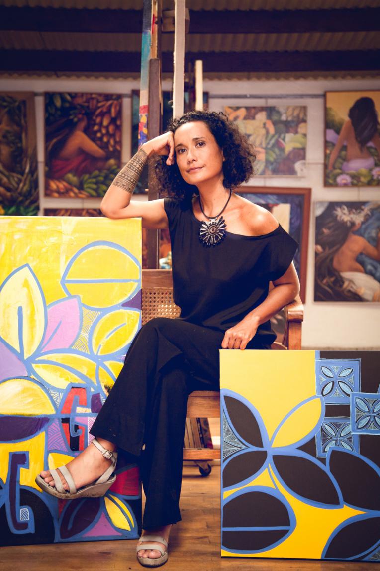 Miriama Bono est très impliquée dans le monde culturel local. (Photo : Keana Photography)