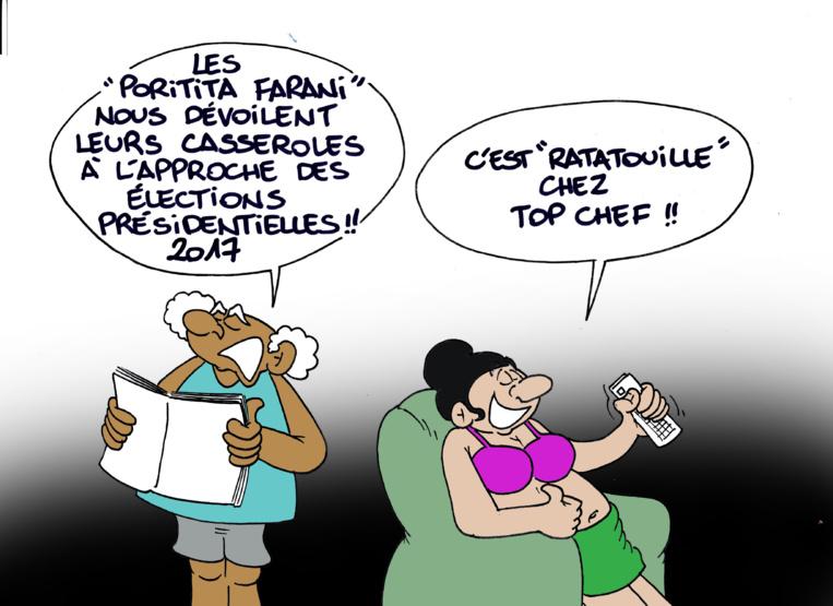 """"""" La campagne présidentielle """" vu par Munoz"""