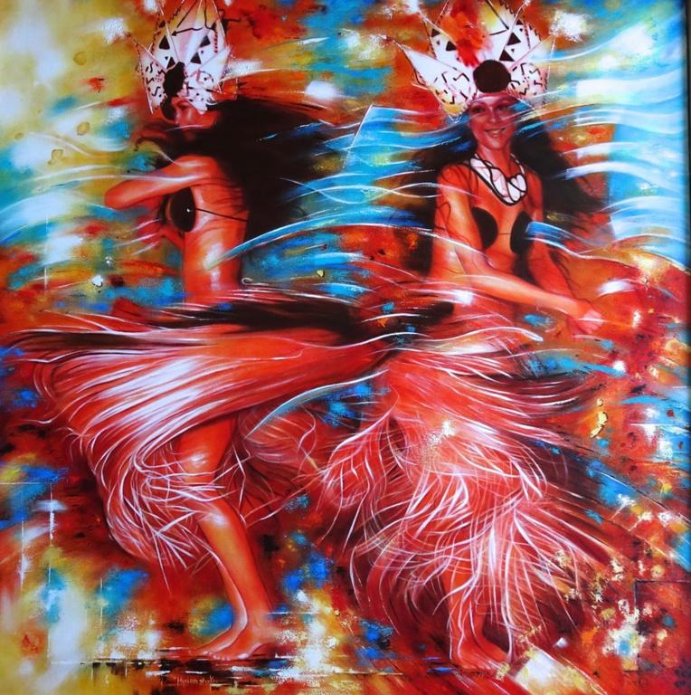 Exposition : et virevoltent les danseuses de Myriam Stroken