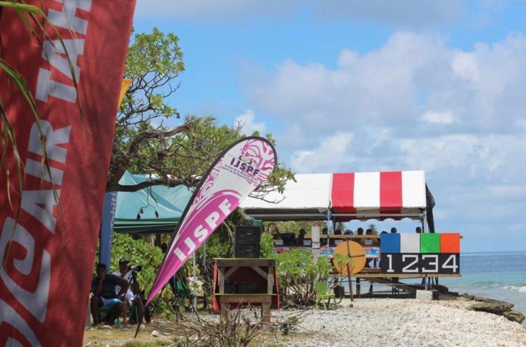 La fédération tahitienne de surf proposait cet évènement avec le soutien de différents partenaires