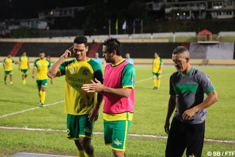 Le capitaine Alvin Tehau a fait un excellent match