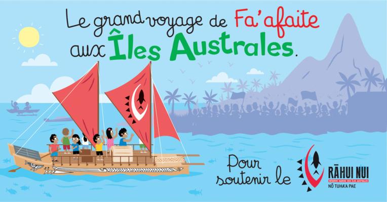 Fa'afaite soutient le projet de grande réserve marine aux Australes