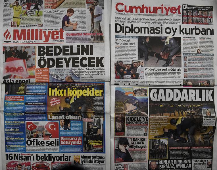 Nouvelles attaques d'Erdogan, la crise avec l'Europe s'envenime