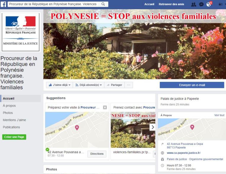 Facebook, nouvel outil du procureur dans la lutte contre les violences intrafamiliales