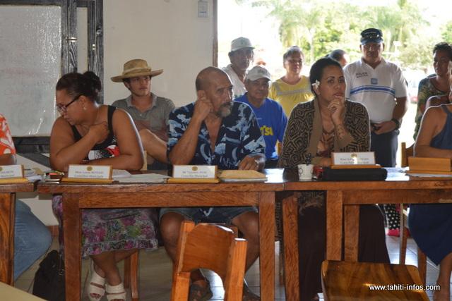 Taaroa Avae pourrait faire partie des adjoints au maire à Papara.
