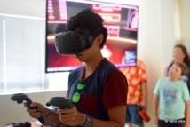 La réalitée virtuelle fait fureur au festival