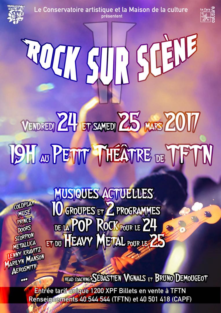 """Concerts """"Rock sur scène"""" : les élèves du Conservatoire vont se lâcher !"""