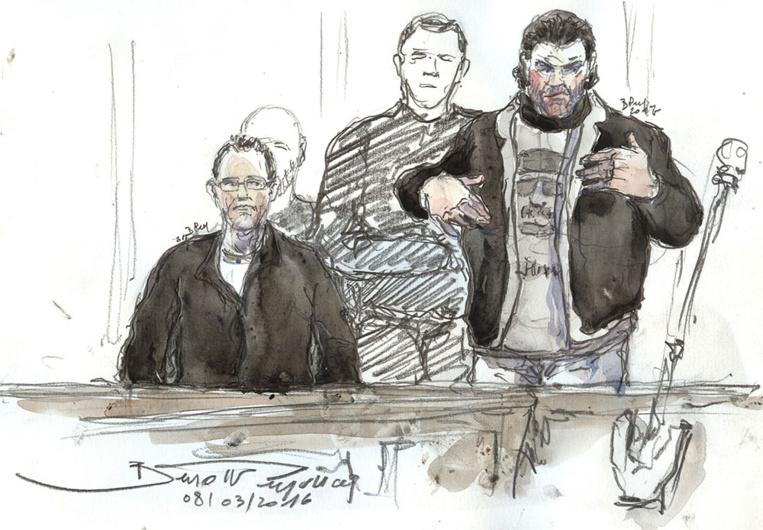 """Vol de cocaïne au """"36"""": l'ex-policier Jonathan Guyot condamné à dix ans de prison"""