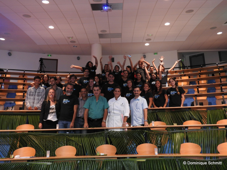 Les étudiants de l'ECT s'engagent pour l'environnement, en collaboration avec Jerry Biret et la CCISM.