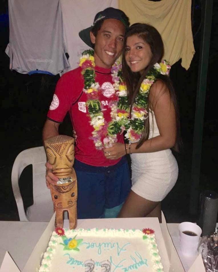 Ariihoe remporte cette première victoire en WQS le jour de son anniversaire