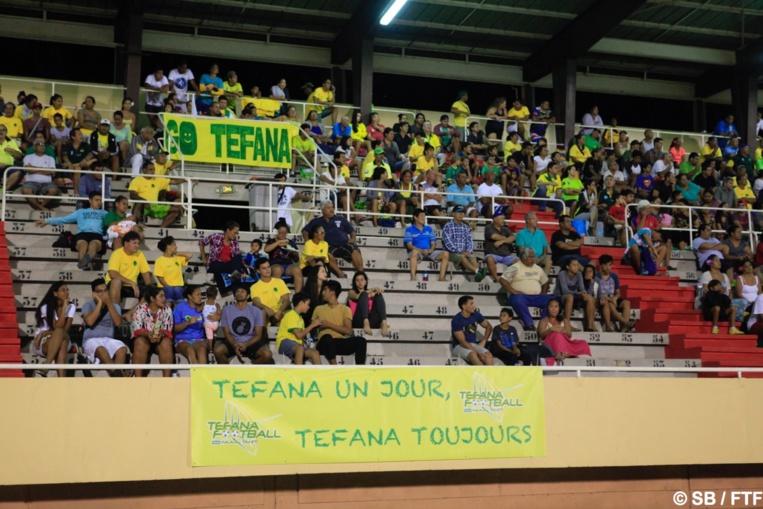 Les supporters de Tefana étaient ravis