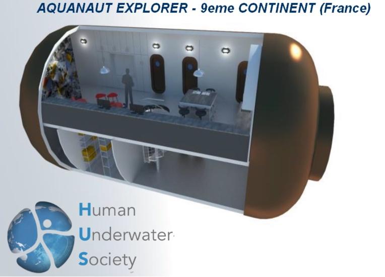 Le prix indépendant va à Aquanaut Explorer de l'association 9ème continent. Cette maison sous-marine est également un exemple écologique.