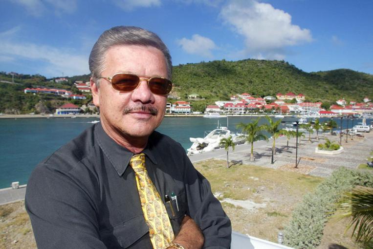 Le président sortant de la Collectivité territoriale de Saint-Barthélémy Bruno Magras (LR).