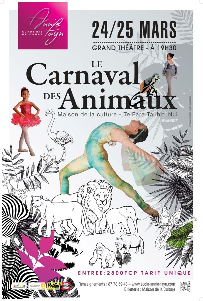 """Danse : l'Académie Annie Fayn s'inspire du """"Carnaval des animaux"""" de Saint-Saëns"""