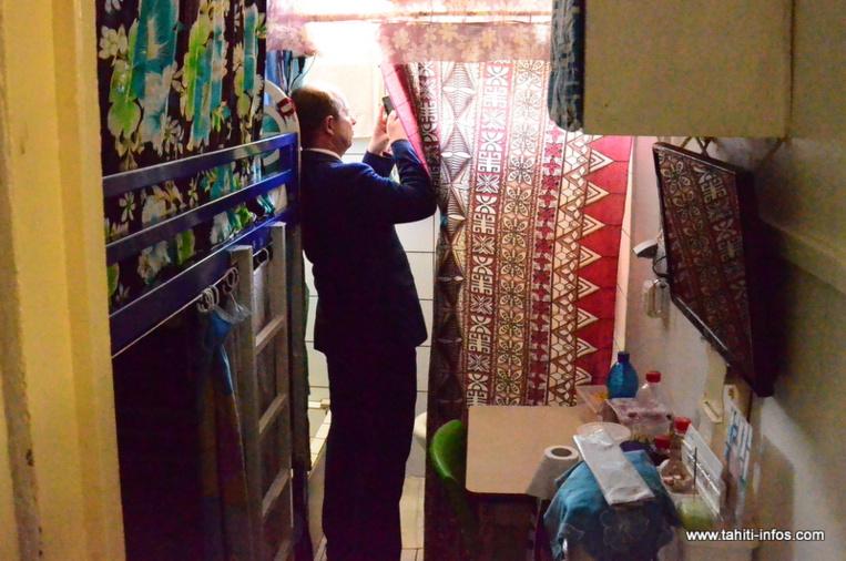 """Nuutania : Urvoas parle de """"l'indispensable rénovation du site"""""""