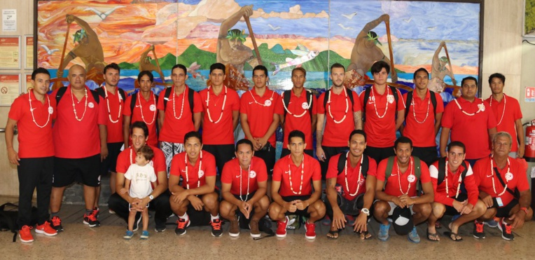 La sélection de Tahiti