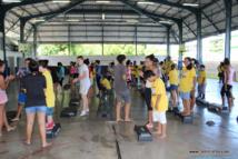Tota tour : un arrêt au lycée du Taaone