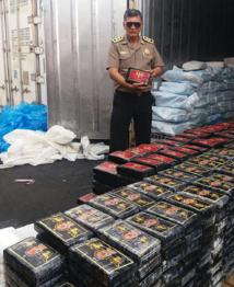 55 tonnes de drogues saisies en Amérique latine et Afrique de l'Ouest
