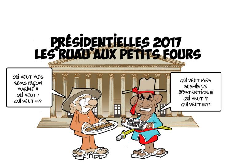 """"""" Les «rua'u» aux petits fours """" par Munoz"""