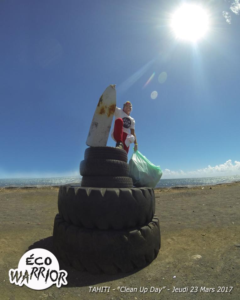 La Brigade verte poursuit ses actions environnementales pour sensibiliser la population du fenua.