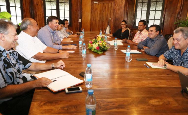 Rencontre du vice-président avec un investisseur néo-zélandais