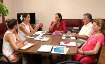 Mareva Georges souhaite financer des projets pour la jeunesse et la famille