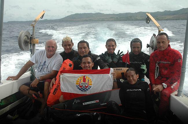 Pêche sous-marine : La sélection tahitienne fin prête pour le tournoi interpacifique