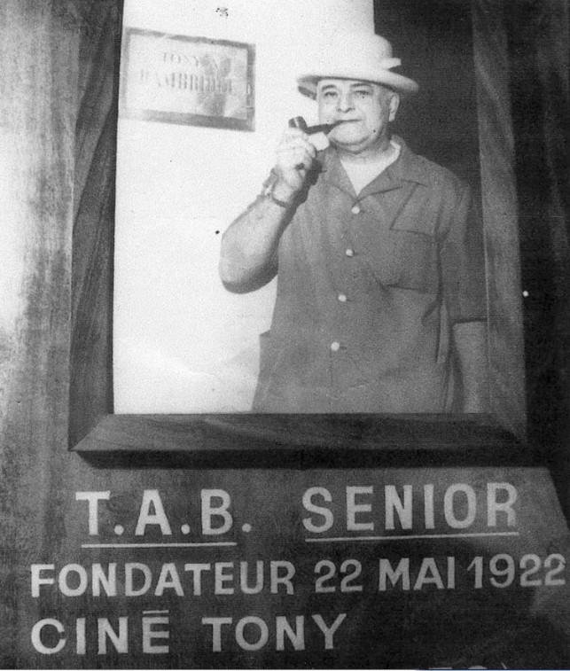 Portrait de Tony Bambridge