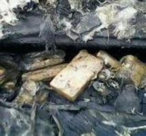 Une partie de la cocaïne a été retrouvée à bord. (Photo GT)