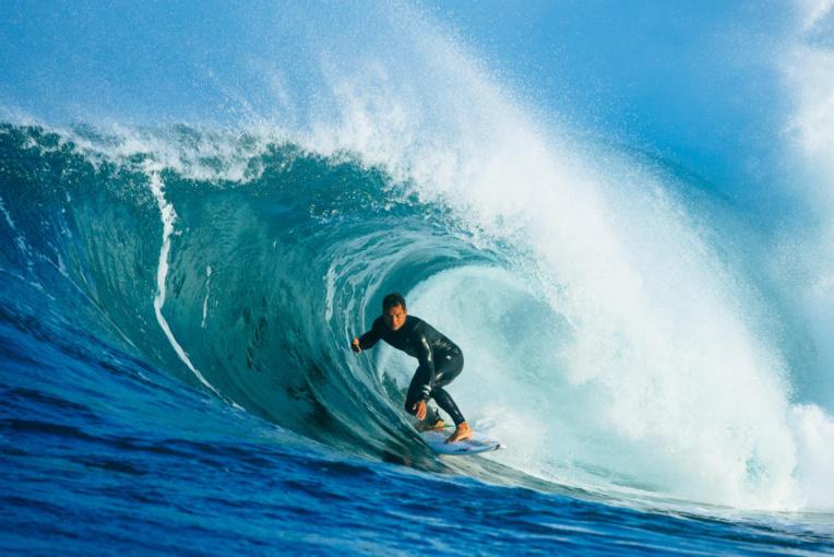 Michel Bourez impressionne en Australie (photo : WSL)