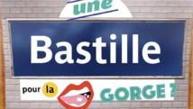 """""""Une Bastille pour la gorge"""" ? La RATP détourne les noms des stations de métro"""