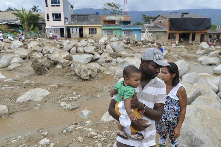 Coulée de boue en Colombie: 254 morts, la population redoute un nouveau drame