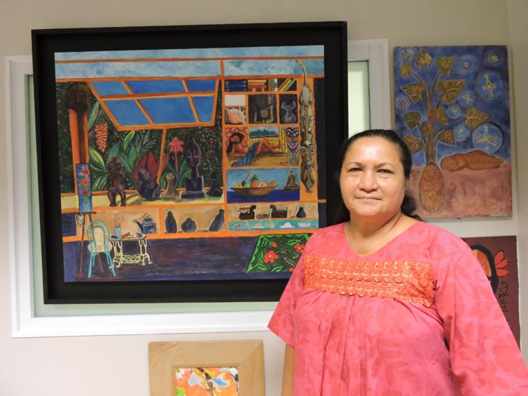 Eliane Tevahitua souhaiterait davantage de concertation avec les riverains et les propriétaires fonciers lors des curages et extractions dans les rivières.