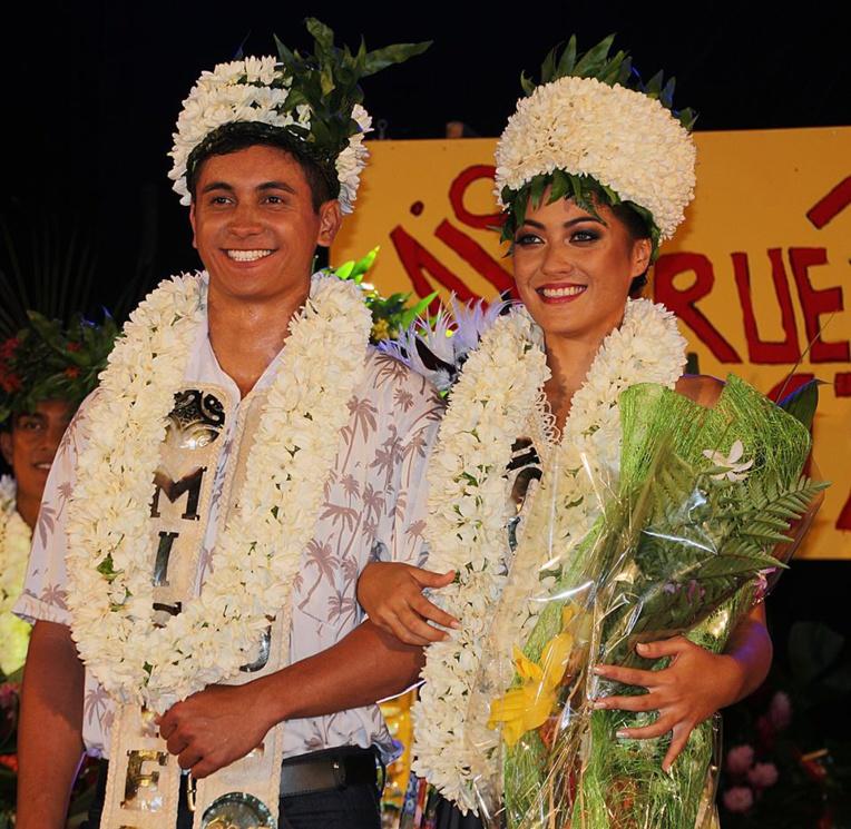 Tuehu Brothers et Karl Gooding nouveaux Miss et Mister Arue