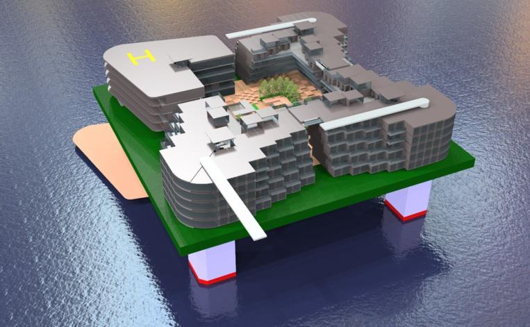 Qu'est-ce que le projet de cité flottante en Polynésie ?