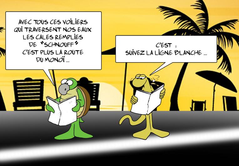 """ La Polynésie sur la route de la cocaïne "" par Munoz"