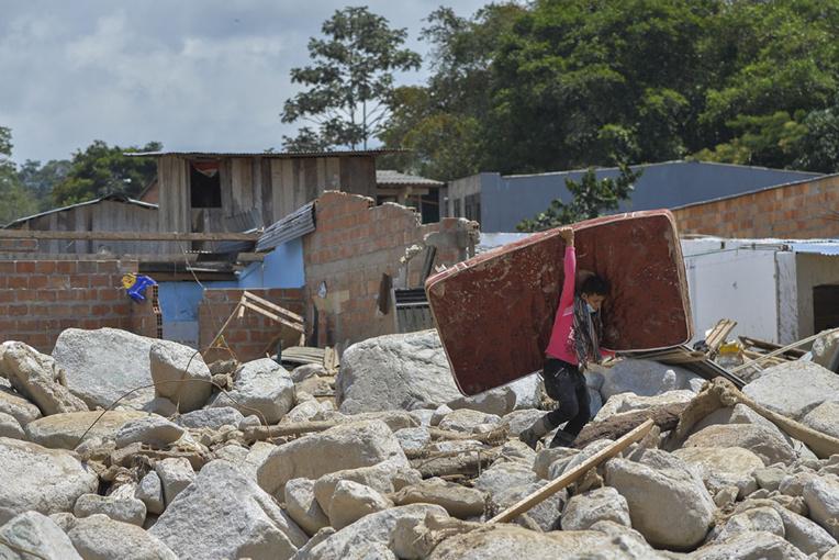 Coulée de boue en Colombie: 290 morts selon un nouveau bilan