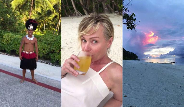 L'animatrice de télévision Ellen DeGeneres raconte son voyage à Tahiti (vidéo)