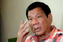 Philippines: Duterte ordonne l'occupation d'îlots disputés en mer de Chine