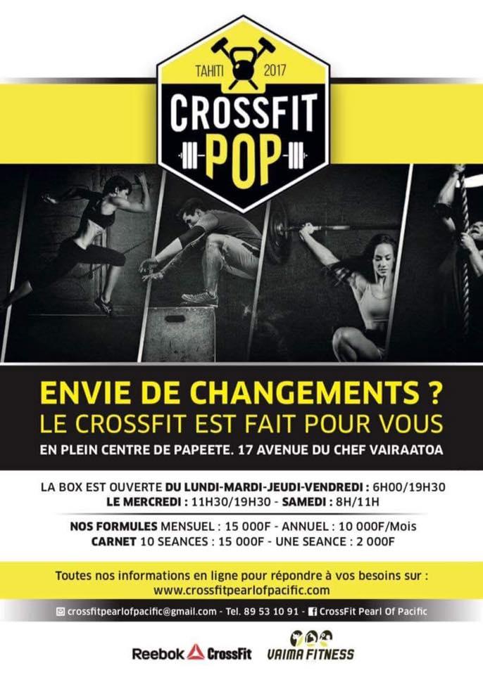 Vaima Fitness Club ouvre une nouvelle salle dédiée au CrossFit