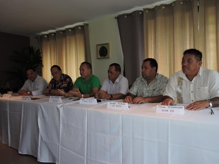 Les maires marquisiens étaient fiers d'annoncer ce vendredi que leur travail commençait à porter ses fruits.