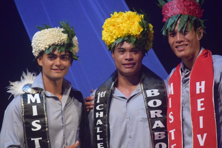 Le trio gagnant masculin.