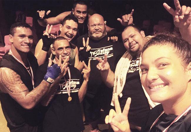 Boxe : Tefana Boxing brille à Bora-Bora