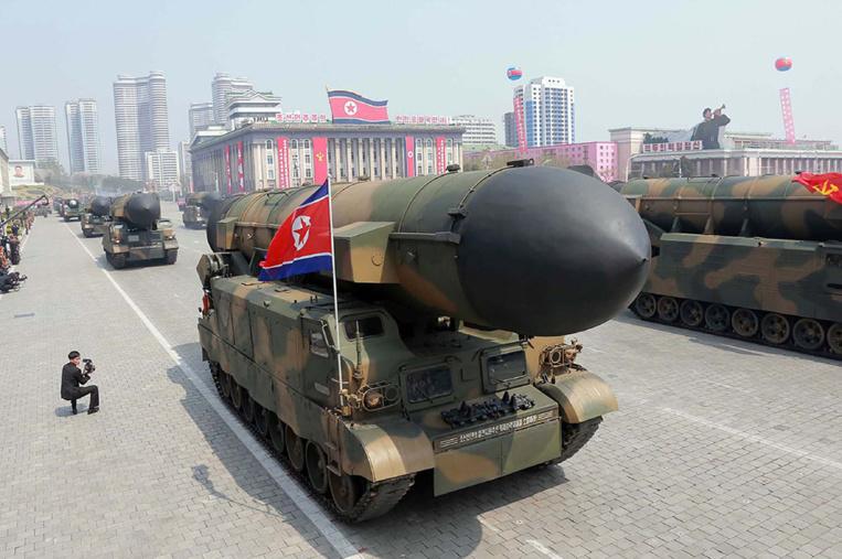 Pyongyang a fait une démonstration de force du régime nord-coréen à l'occasion du 105e anniversaire de la naissance de Kim Il-Sung, le fondateur de la Corée du Nord .