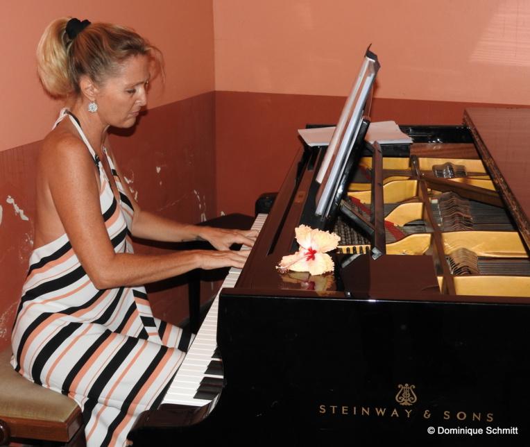 """Accompagnée par la grande harmonie, la pianiste soliste Dothy Colombari-Lhomme interprétera """"Rhapsody In Blue"""" de Gershwin, une pièce maîtresse."""