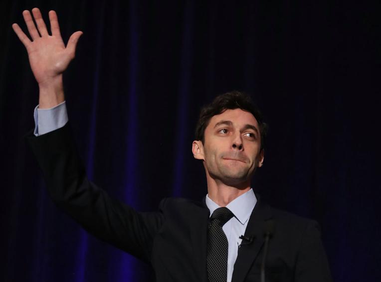 Un démocrate en tête dans une élection test pour Trump en Géorgie