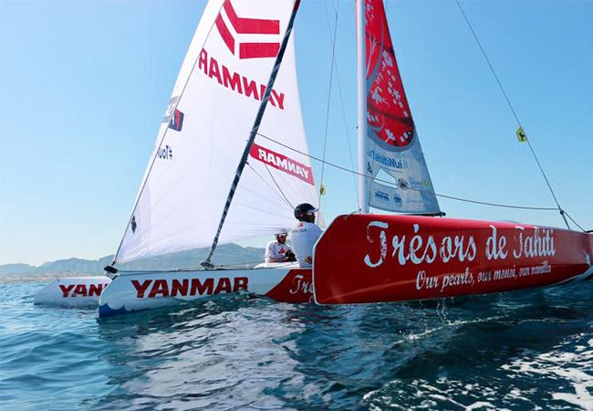 Voile : « Trésors de Tahiti » monte en puissance et finit 4e à la Spi Ouest France