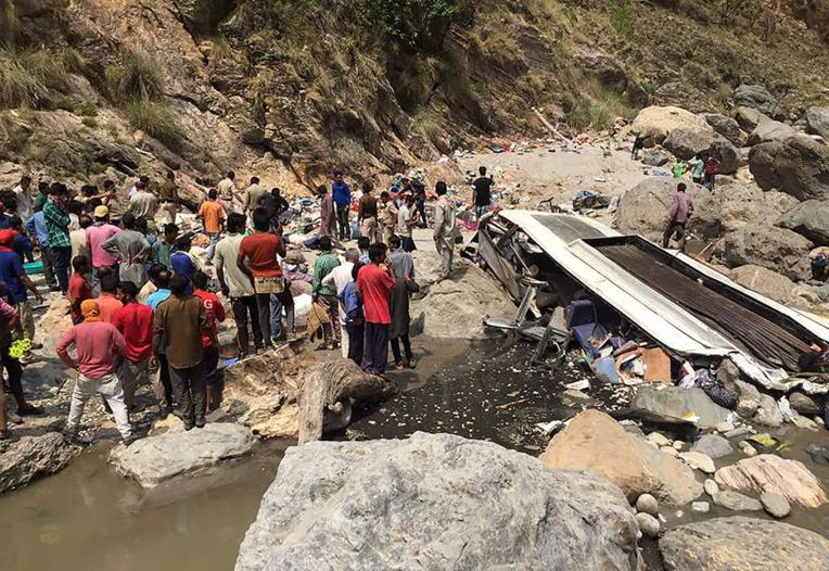 44 morts dans un accident de bus en Inde