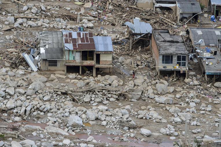 Nouveaux glissements de terrain en Colombie: au moins 11 morts, 20 disparus