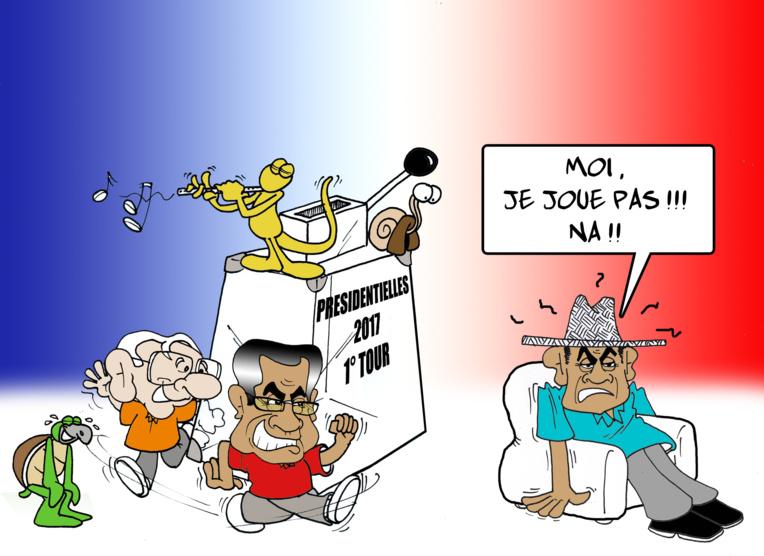 """"""" Les présidentielles à la sauce locale """" par Munoz"""